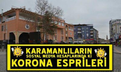 Karamanlıların Paylaştığı Korona Esprileri