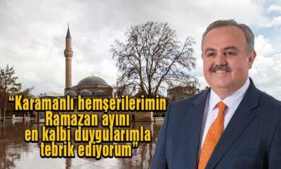 Milletvekili Recep Şeker'den Ramazan Mesajı