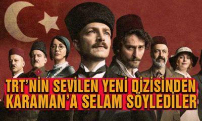 TRT'nin Sevilen Dizisinden Karaman'a Selam Söylediler