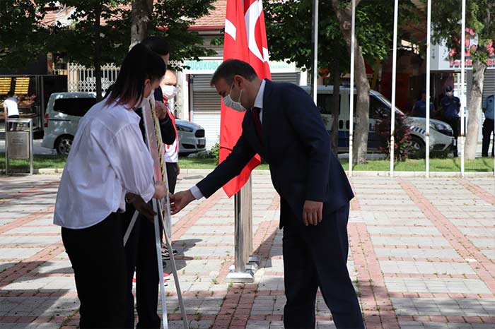 Karaman'da 19 Mayıs Töreni İcra Edildi