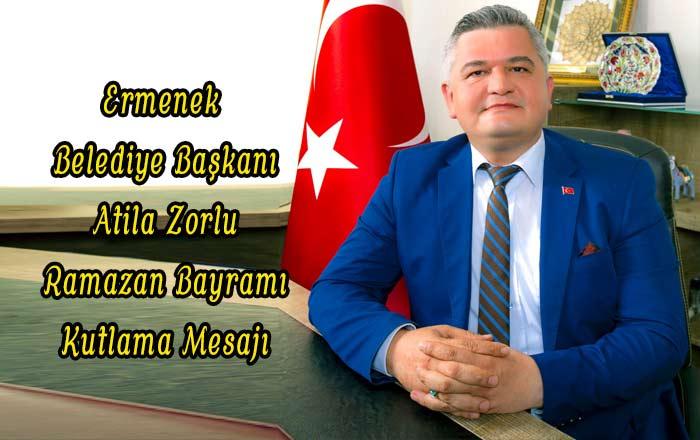 Ermenek Belediye Başkanı Zorlu Ramazan Bayramını Kutladı