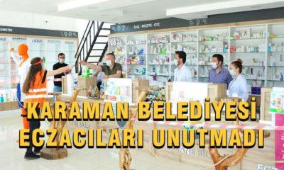 Karaman Belediyesinden Eczacılara Jest