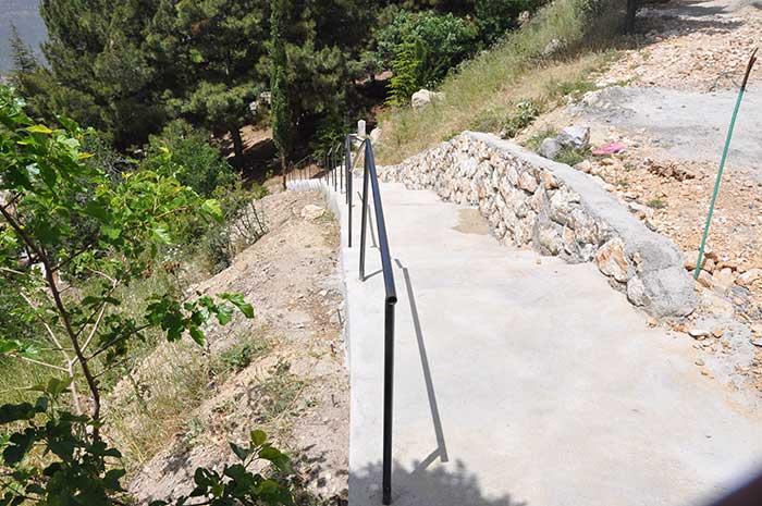 Ermenek'te Çalışmalar Hız Kesmiyor