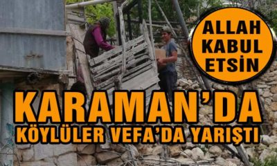 Karaman'da Köylüler VEFA'da Yarıştı