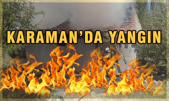Karaman'da Yangın!
