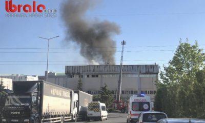 Kocaeli'de bir tekstil fabrikasında yangın çıktı