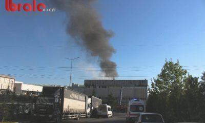 Kocaeli'deki fabrika yangını söndürüldü