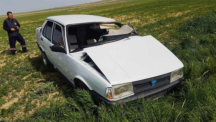 Tır İle Otomobil Çarpıştı! 3 Kişi Yaralandı