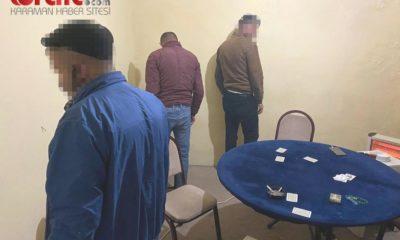 Kumar oynamak için ev kiralayan 7 kişi gözaltına alındı