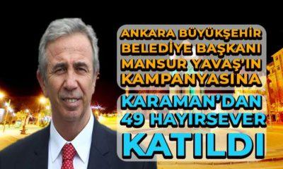 Karaman'dan 49 Hayırsever Katıldı