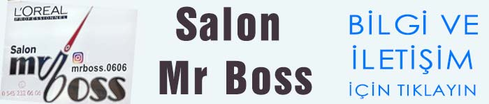 Salon Mr Boss Karaman İbrala.com