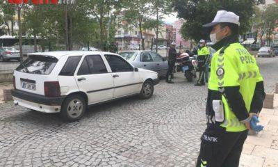 Sokağa çıkma kısıtlamasını ihlal edip polisten kaçan 2 kişiye 13 bin TL ceza