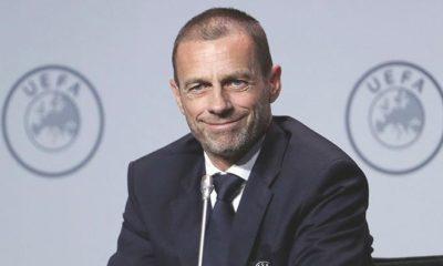 UEFA Başkanı Ceferin'den EURO 2020 açıklaması! Ev sahibi şehir…