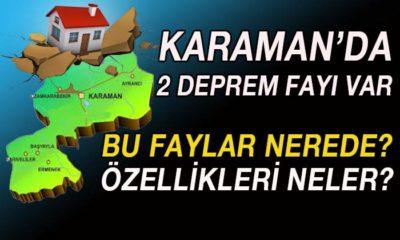 Karaman'da 2 Deprem Fay Hattı Var! Bu Faylar Nerede?