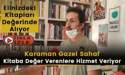 Karaman'da Kitaplarınızı Gazel Sahafta Değerlendirin