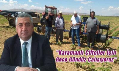 Karaman'da Tarım Alanında Neler Yapılıyor?