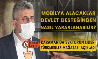 Karaman'da Mobilya Alacaklar Devlet Desteğinden Nasıl Yararlanabilir?