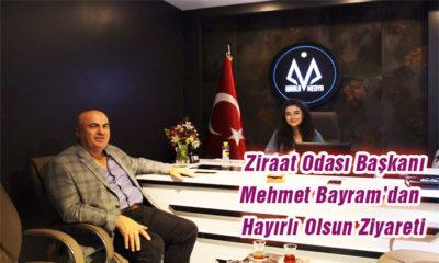 Ziraat Odası Başkanı Mehmet Bayram'dan Hayırlı Olsun Ziyareti