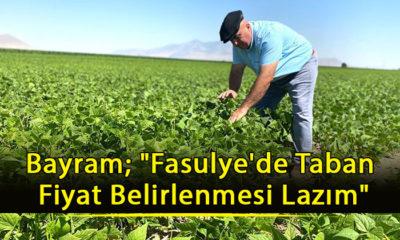 """Bayram; """"Fasulye'de Taban Fiyat Belirlenmesi Lazım"""""""