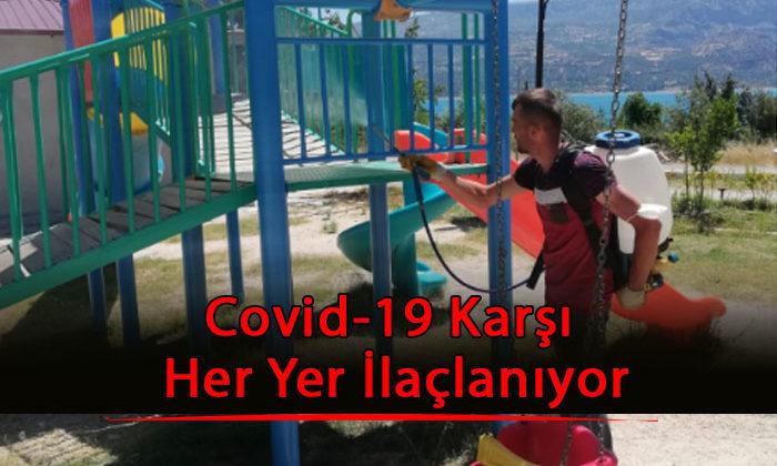 Covid-19 Karşı Her Yer İlaçlanıyor