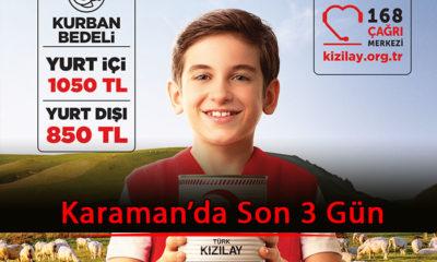 Karaman'da Son 3 Gün!
