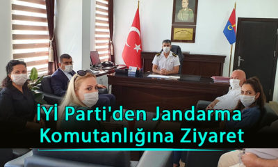 İYİ Parti'den Jandarma Komutanlığına Ziyaret
