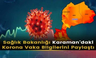 Sağlık Bakanlığı Karaman Korona Bilgilerini Açıkladı