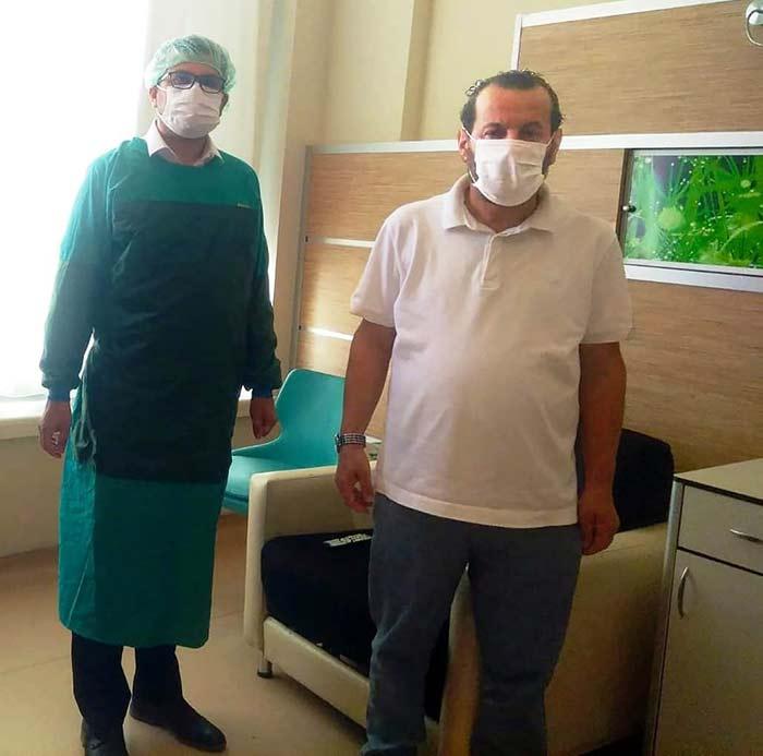 Karaman'da Rektör Koronayı Yendi