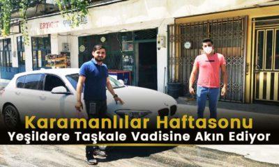 Karamanlılar Yeşildere Taşkale Vadisine Akın Ediyor