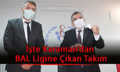 İşte Karaman'da Bal Ligine Yükselen Takım
