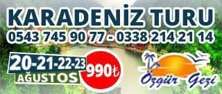 Karaman Karadeniz Turu i