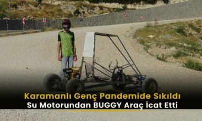 Karamanlı Genç Sıkılınca Araba İcat Etti