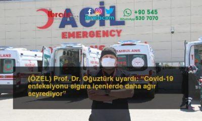 """(ÖZEL) Prof. Dr. Oğuztürk uyardı: """"Covid-19 enfeksiyonu sigara içenlerde daha ağır seyrediyor"""""""