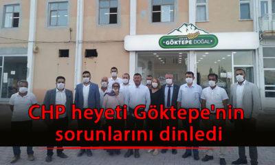 CHP heyeti Göktepe'nin sorunlarını dinledi