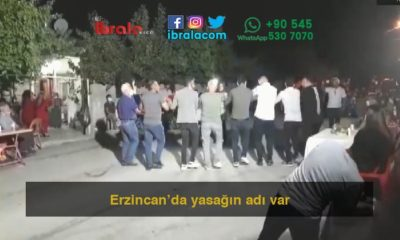 Erzincan'da yasağın adı var