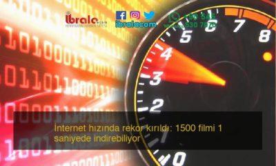İnternet hızında rekor kırıldı: 1500 filmi 1 saniyede indirebiliyor