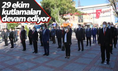 Karaman'da 29 Ekim Kutlamaları Devam Ediyor