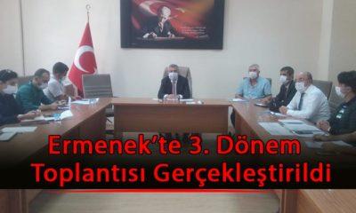 Ermenek'te 3. Dönem  Toplantısı Gerçekleştirildi