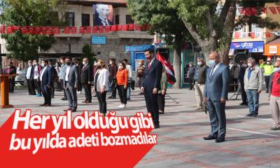 Karaman'da Her Yıl Olduğu Gibi Bu Yılda Adeti Bozmadılar