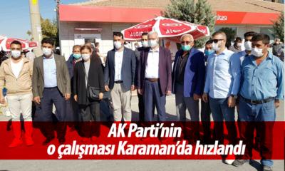 AK Parti'nin O Çalışması Karaman'da Hızlandı