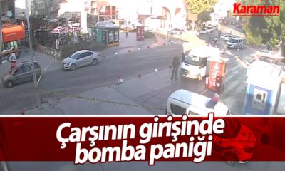 Karaman'da Bomba Paniği!