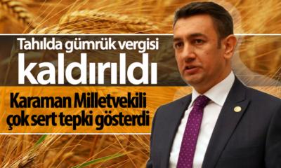 Karaman Milletvekili Ünver'den Çok Sert Açıklama!