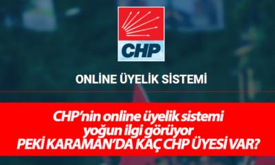 CHP'nin Online Üyelik Sistemi Büyük İlgi Görüyor! Peki Karaman'da Kaç CHP Üyesi Var?