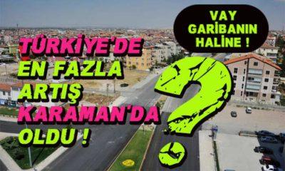 Vay garibanın haline! Türkiye'de en fazla artış KARAMAN'da oldu?