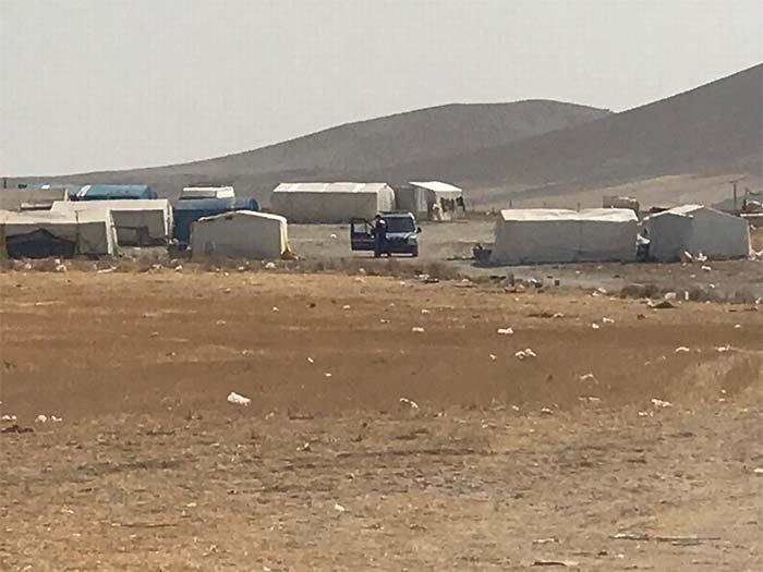 Çadırda yaşayan 93 kişi karantinaya alındı!