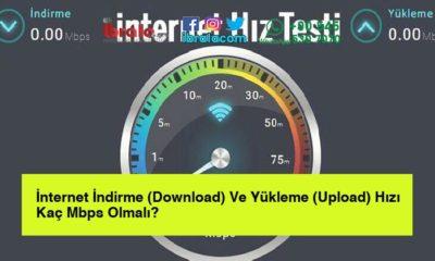 İnternet İndirme (Download) Ve Yükleme (Upload) Hızı Kaç Mbps Olmalı?