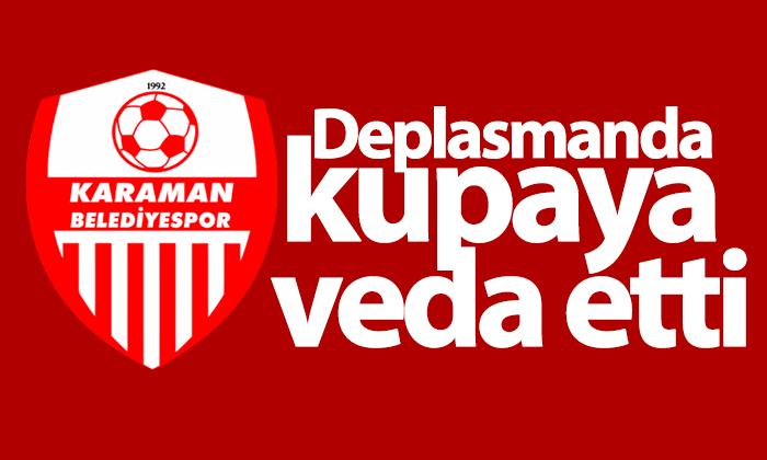 Karaman Belediyespor Deplasmanda Kupaya Veda Etti!