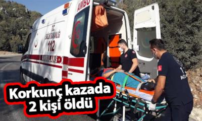 Korkunç Kazada İki Kişi Öldü!