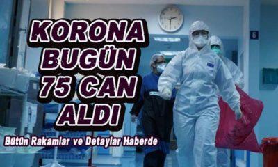 Korona bugün 75 CAN aldı! Toplam vefat 9 bin 371 yükseldi