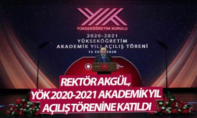 KMÜ Rektörü Akgül, Külliye'de Akademik Yıl Açılışına Katıldı